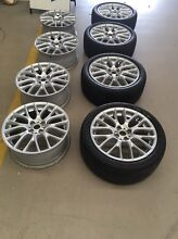 "GENUINE OEM MINI COOPER S R53 R56 BMW 17"" WHEELS RIMS North Sydney North Sydney Area Preview"