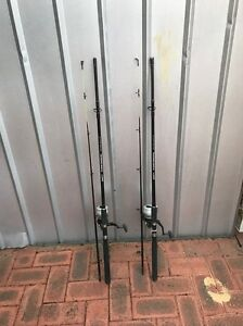 Fishing rods x 2 Winthrop Melville Area Preview