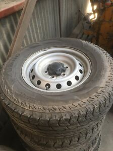 2012 ford ranger 255/70R16 rims and tyres Creswick Hepburn Area Preview