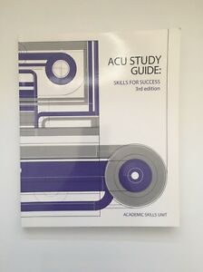 ACU Study Guide: Skills for Success 3rd Edition Winston Hills Parramatta Area Preview