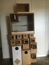 Nest boxes carry cages dog cat chicken feed & much more Riverstone Blacktown Area Preview