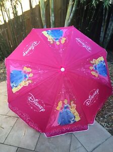 Disney Princess Beach Umbrella Burleigh Waters Gold Coast South Preview