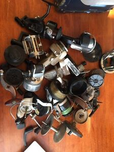 Old fishing reels/ spares/parts Rosny Clarence Area Preview
