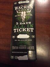 Wacken 2016 Ticket Mona Vale Pittwater Area Preview