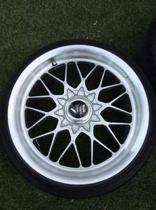Genuine Rays Engineering Evolution4, 18x8.5 & 9.5 +40 225/35/18 Mascot Rockdale Area Preview