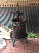 Wine making equipmeng Glenelg Holdfast Bay Preview