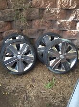 For falcon ba 20 inch chrome wheels needs tyres Muswellbrook Muswellbrook Area Preview