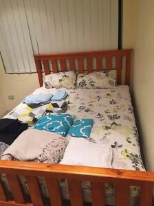 DOUBLE BED WITH MATTRRESS Baldivis Rockingham Area Preview