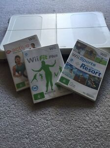 Wii balance board and games Randwick Eastern Suburbs Preview
