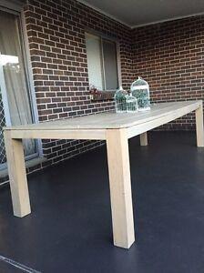 Outdoor / indoor dinning table Greenacre Bankstown Area Preview