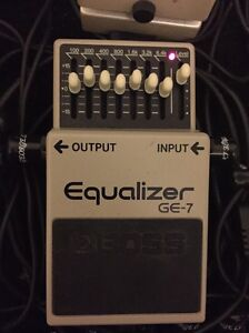 BOSS GE-7 Equalizer Pedal. Guitar FX Effects Pedal GE7 Stanhope Gardens Blacktown Area Preview