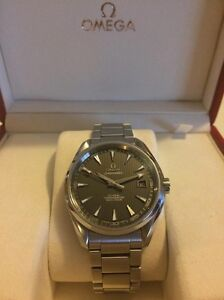 Omega Seamaster Aqua Terra 41.5mm (Box, Papers, and warranty) Newcastle Newcastle Area Preview