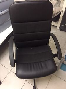Black office chair Banyo Brisbane North East Preview