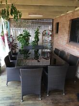 Outdoor table 10 seater Sans Souci Rockdale Area Preview