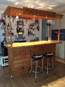 Quality built home bar with lighting Mandurah Mandurah Area Preview