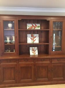 Timber display cabinet Barden Ridge Sutherland Area Preview