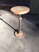 Stool industrial wheelers Wilson sewing machines Bayswater Knox Area Preview