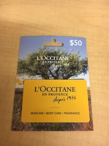 LOccitane Gift Card $50 Warners Bay Lake Macquarie Area Preview