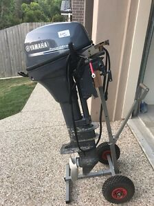 2 x Yamaha 9.9 high thrust 4 stroke Cleveland Redland Area Preview