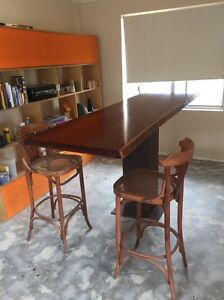 Timber slab table dining tables gumtree australia free for Dining room tables on gumtree