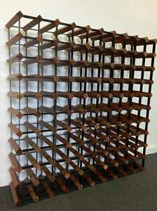 Wine Rack 110 Bottle Wooden and Steel  Cellar Belair Timber Somersby Gosford Area Preview