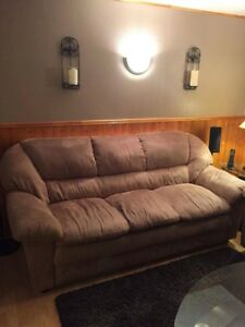 Sofa and love seat set