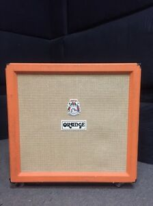 Orange 4x12 Cabinet w/ detachable wheels Sydney City Inner Sydney Preview