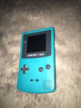 Gameboy Color Console Teal Like New Condition Rosewood Ipswich City Preview
