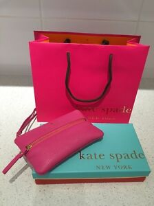 Genuine Kate Spade wristlet wallet coin purse - barely used Maylands Bayswater Area Preview