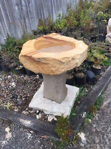 Sandstone birdbaths Albion Park Shellharbour Area Preview