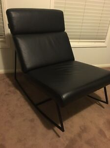 Freedom Skate black leather rocker seat chair Camden Camden Area Preview