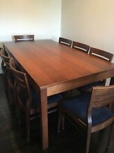 Dining table and 8 chairs Abbotsford Canada Bay Area Preview