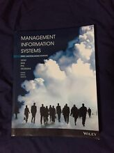 Management Information Systems - First Australasian Edition Bunya Brisbane North West Preview