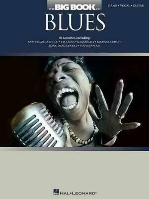The Big Book of Blues: Piano/Vocal/Guitar (English) Paperback Book Free Shipping