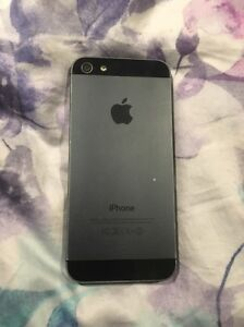 Black IPhone 5 16g Sunbury Hume Area Preview