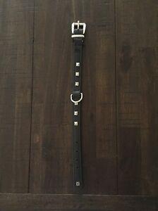 Leather studded dog collar Miandetta Devonport Area Preview
