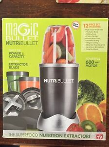 NutriBullet 600w 12 piece BRAND NEW Grovedale Geelong City Preview