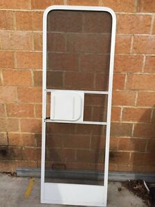 Screen Door (Rounded Corners) off JAYCO MOTOR Home. Bayswater Bayswater Area Preview