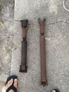 Front and rear tail shafts - narrow track $150 pair,