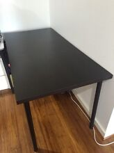 Ikea Black table / desk Chatswood West Willoughby Area Preview