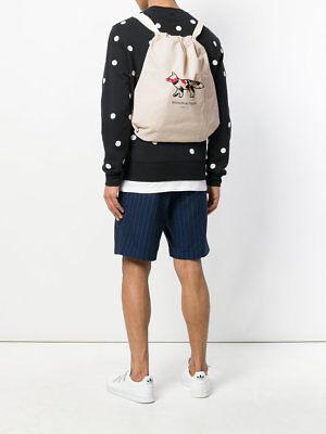 MAISON KITSUNÉ Venice Fox tote backpack SSENSE FARFETCH Shopbop