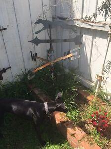 Greyhound/whippet weathervane Rosebud West Mornington Peninsula Preview