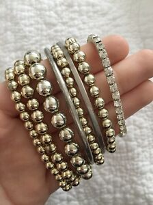 8 gold  bracelets bangles brand new Newcastle Newcastle Area Preview