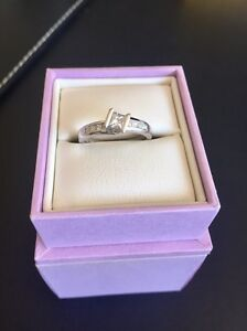 Michael white gold diamond ring 18 ct Perth Perth City Area Preview