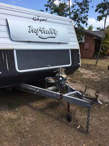Gazal infinity 4 berth pop top caravan Upper Coomera Gold Coast North Preview