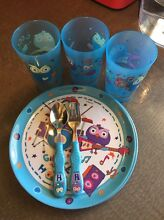 Giggle and Hoot plates, cups and cutlery East Victoria Park Victoria Park Area Preview