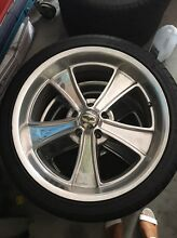 Mag billet wheels to suit HQ stud pattern commodore chev etc Narre Warren South Casey Area Preview