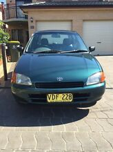 1998 TOYOTA STARLET FOR SALE $1500 Wallsend Newcastle Area Preview