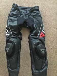Near new Dainese Delta Pro Leather Pants for sale Church Point Pittwater Area Preview
