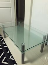 Glass Coffee Tabble Caringbah Sutherland Area Preview
